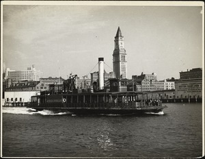Old harbor to Boston ferry