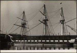 Old Ironsides at Charlestown Navy Yard