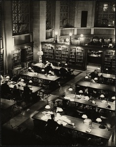 Boston, Bates Hall, Copley Sq. Library