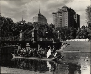 Swan boat - Public Gardens Boston, Mass.