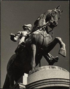 Ball's statue of Washington, Public Gardens, Boston