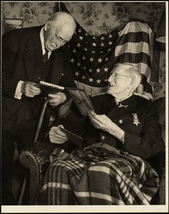 Civil War vets 1945
