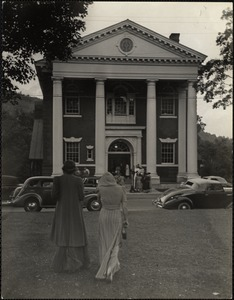 Town hall, Woodstock, Vt., July 10, 1939