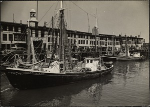 T' wharf, Boston