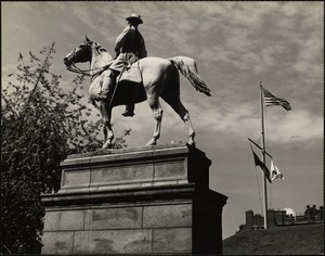 General Hooker on the State House lawn, Boston, Mass.