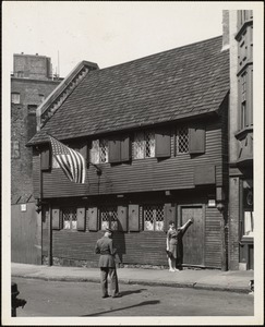Paul Revere House, Boston, Mass.