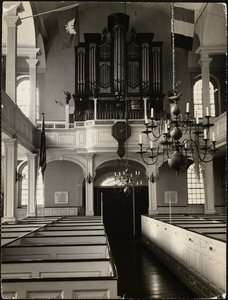 Interior of the Old North Church, Boston