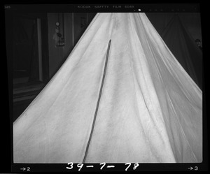 Tents, after test
