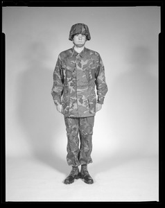 Uniform, tropical combat camouflage