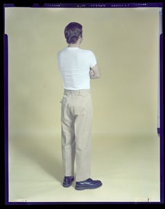 CEMEL, inmate uniform, back view