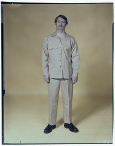 CEMEL, inmate uniform, front view
