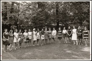 Alumnae mothers and daughters. October 1970