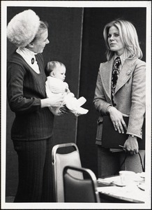 Alice Diman Pratt '63 (w/ baby), Cokie Hollis Perry '69