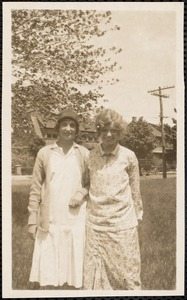 Betsy Gilmer, Dotty Wolher, Pine Manor, Wellesley, Mass. June 1926