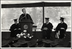 5/75 Commencement. Dr. John Knowles
