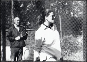 Paddle tennis, Parents Weekend, fall 81