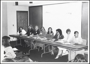 Parents Weekend, career panel, spring '82