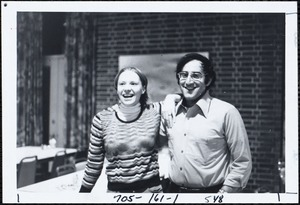 Laurie Hoover-Siegel and husband