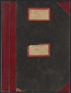Sacco-Vanzetti Case Records, 1920-1928. Transcripts. Bound Trial Transcripts, Vol. 5, pp. 1377-1724 (belonging to Fred H. Moore). Box 30, Folder 2, Harvard Law School Library, Historical & Special Collections