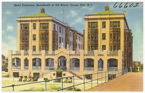 Hotel Delaware, Boardwalk at 3rd Street, Ocean City, N. J.