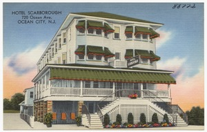 Hotel Scarborough, 720 Ocean Ave., Ocean City, N. J.