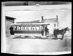 1st horse cars in Brockton