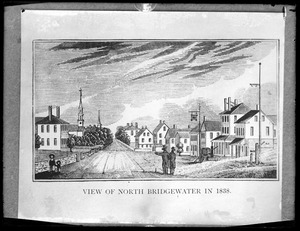 View of North Bridgewater 1838