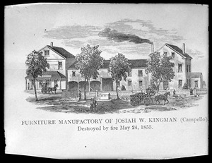 Josiah Kingman factory
