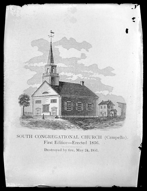 South Congregational Church first edifice