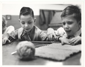 Boys Knitting