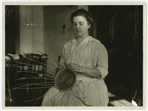 Basketry, Perkins Institution for the Blind