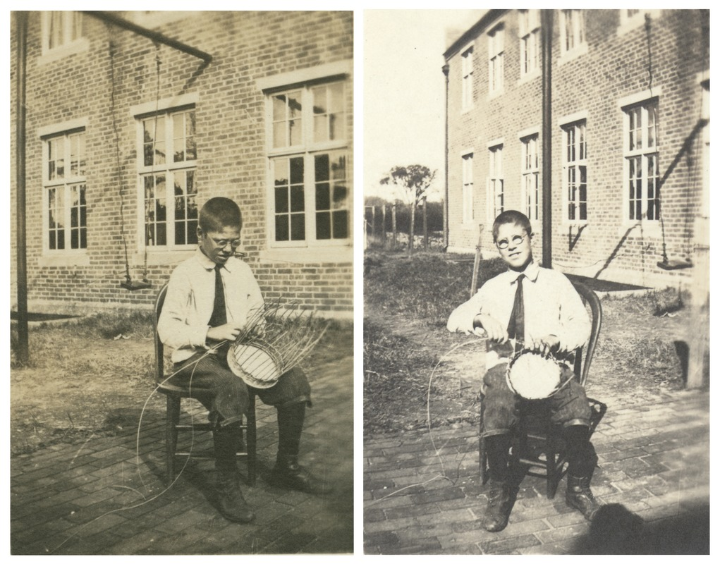 Basketry, Perkins Institution