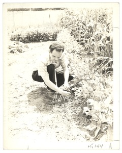 Attaching a Weeder to a Guide Wire, Perkins School for the Blind