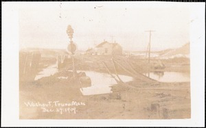 Washout, Truro, Mass, Dec. 27, 1909