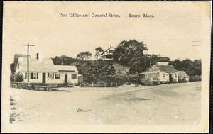 Post office and general store, Truro, Mass.