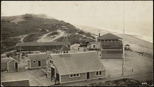 Pamet River Life Saving Station at Ballston Beach, c. 1909.