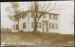 Parsonage, Truro, Mass.
