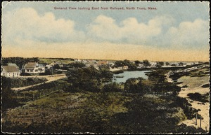 General view looking east from railroad, North Truro, Mass.