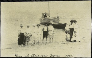 Picnic at Ballston Beach, 1905
