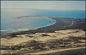 Aerial view of outer Cape Cod