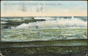 Surf at Peaked Hill Bars, Provincetown Bars, Provincetown, Mass.