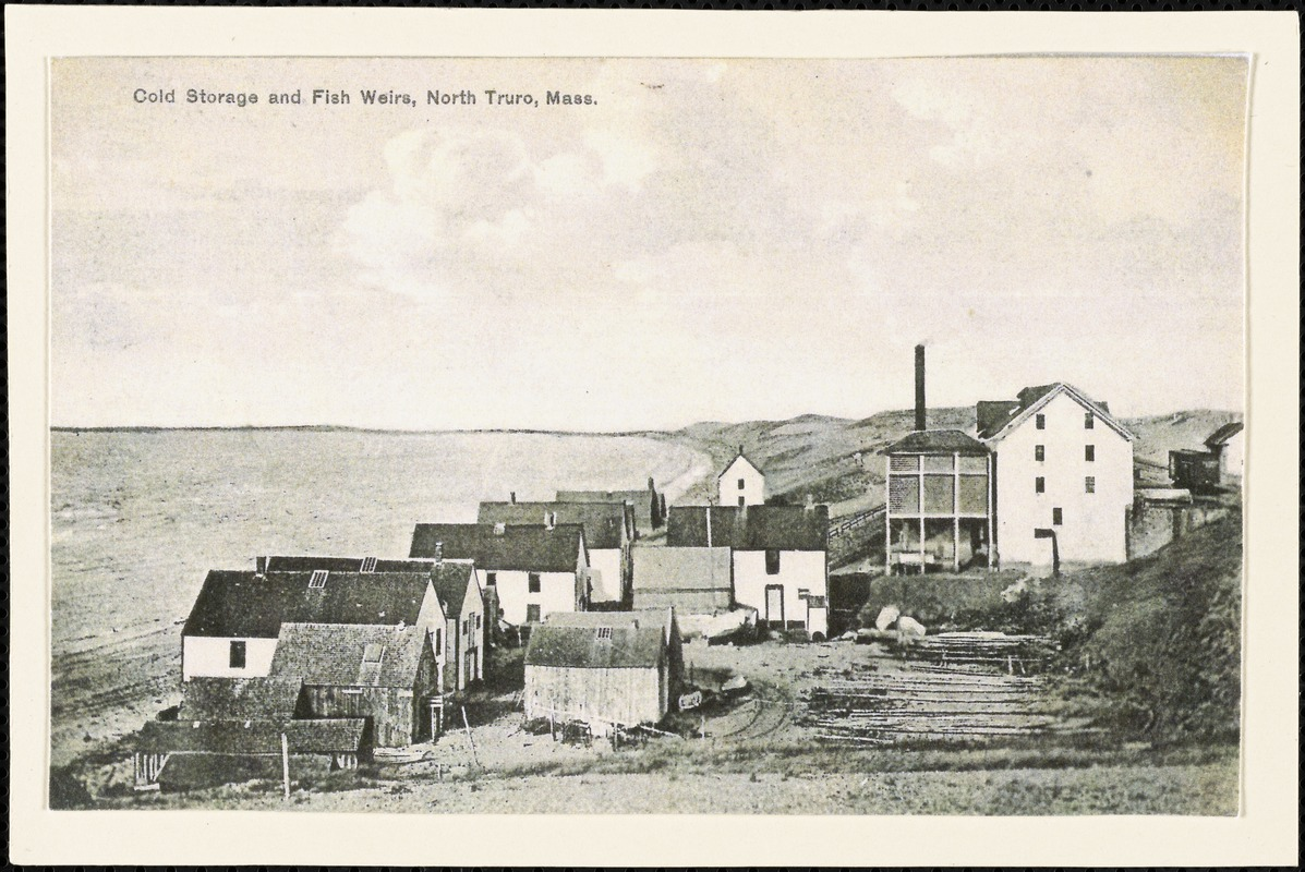Cold storage and fish weirs North Truro Mass.  sc 1 st  Digital Commonwealth & Cold storage and fish weirs North Truro Mass. - Digital Commonwealth