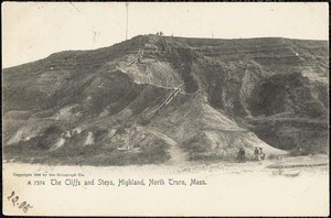 The cliffs and steps, Highland, North Truro, Mass.