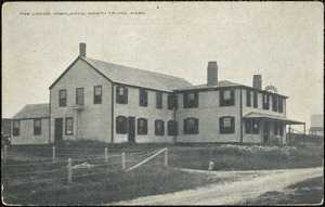 The Lodge, Highlands, North Truro, Mass.