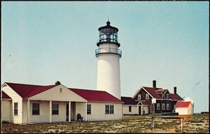 Lighthouse, Highland Light, Truro, Mass.