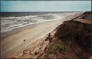 Sand and sea on Outer Cape Cod