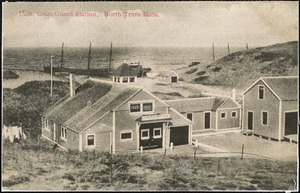 U. S. Coast Guard Station, North Truro Mass.