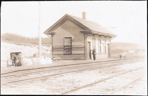 Truro, Ma. Railroad station, Depot Rd.