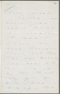 Your Scholar (Emily Dickinson), Amherst, Mass., autograph letter signed to Thomas Wentworth Higginson, June 1878