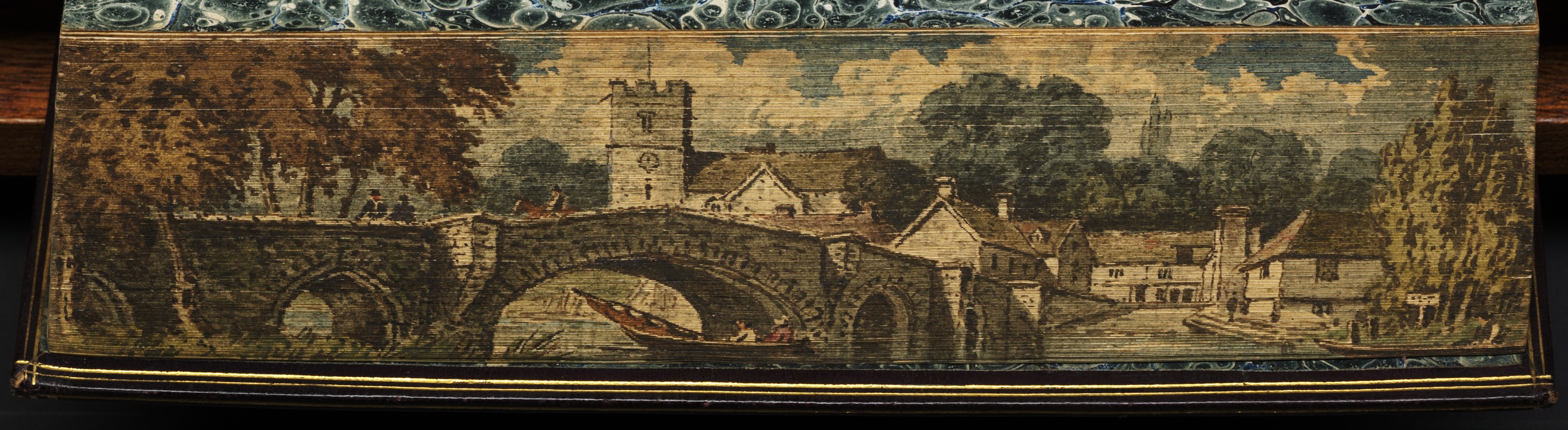 Aylesford Church and bridge in the beautiful county of Kent